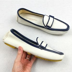 Emporio Armani Slip On Loafers/Driving Shoes 39.5